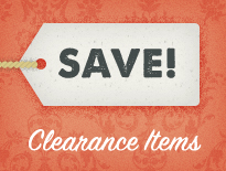 Save on Clearance Items